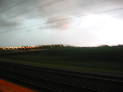 Horizon 103 (17 July at 18:5:02) from the train