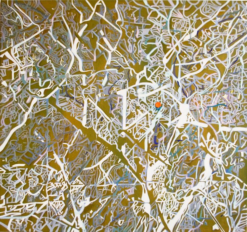 Ramas. Oil on canvas, 100x94 cm.